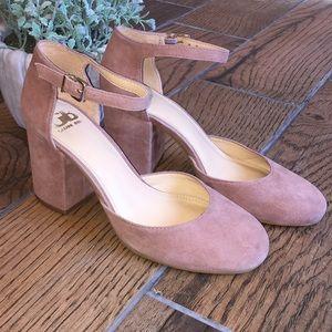 Gianni Bini / Blush Mary Jane Heels